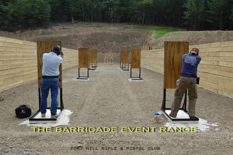 Action Pistol Barricade