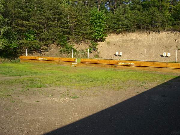 New 25 yard wall