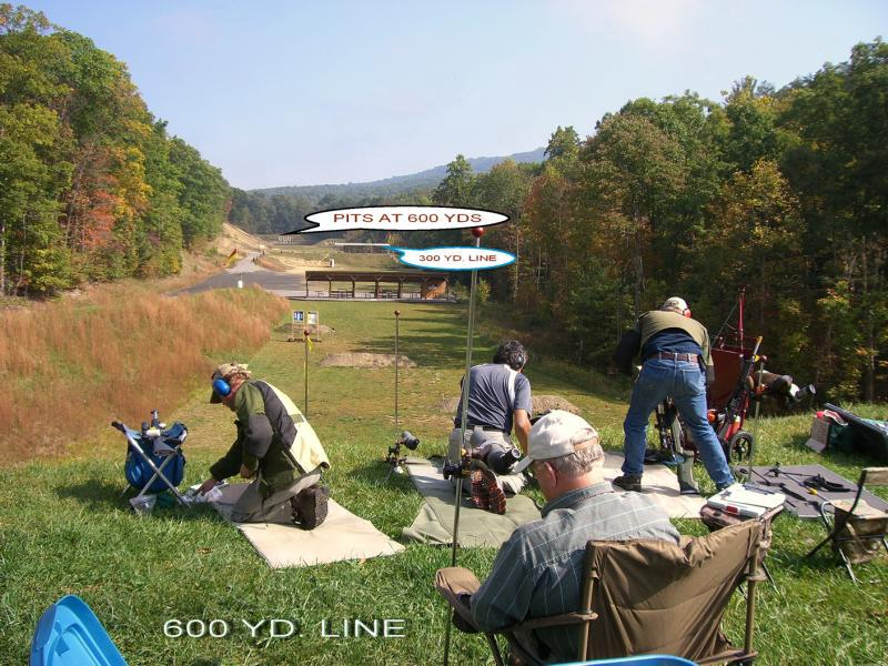 600 Yard Range